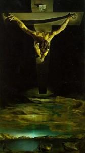Cristo crucificado representado desde un ángulo totalmente inédito.